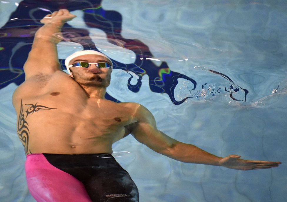 Флоран Маноду, плавание