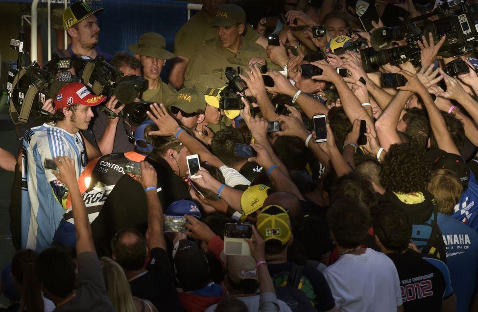 Гран-при Аргентины MotoGP, Валентино Росси