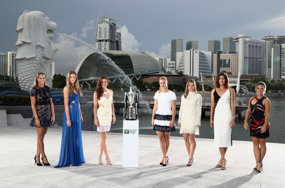 Las 8 grandes de la WTA presentan las finales de Singapur