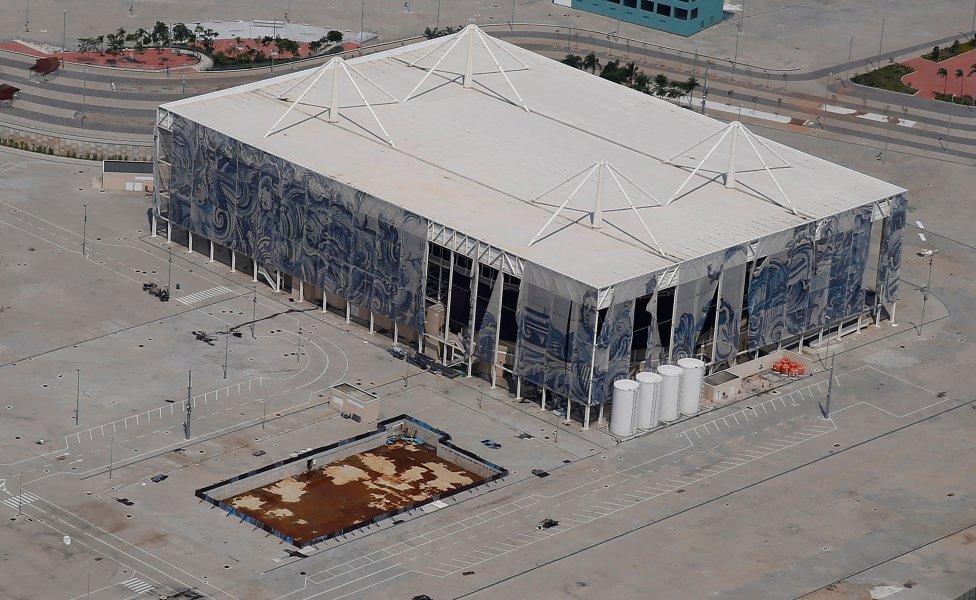 El abandono de las instalaciones olímpicas de Río